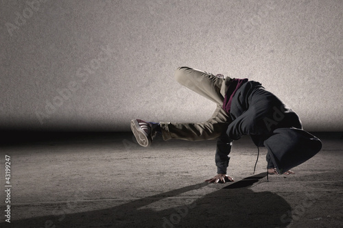 Cool breakdancing style Canvas Print