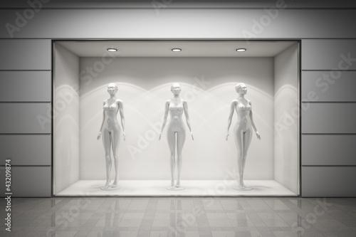 Fototapeta Boutique display window