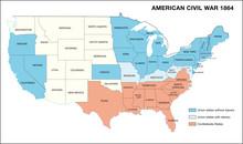 American Civil War Map