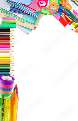Fotografía  fournitures scolaires