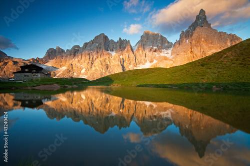 Obraz na plátně Dolomiti Pale di San Martino