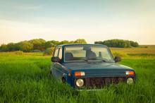 Russian SUV Lada Niva (VAZ 2121)