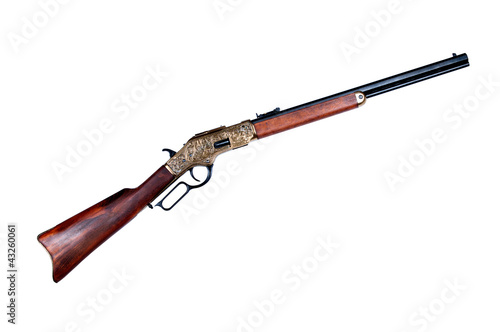 Canvas Print old rifle winchester