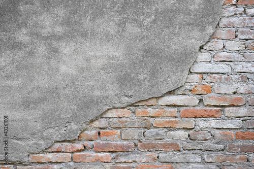 Cuadros en Lienzo Texture muro mattoni