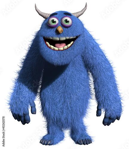 Foto auf Gartenposter Nette Monster Monster