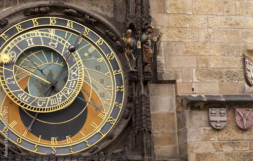 Photo Stands Prague Astronomical clock