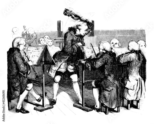 Photo Orchestre - 18th century