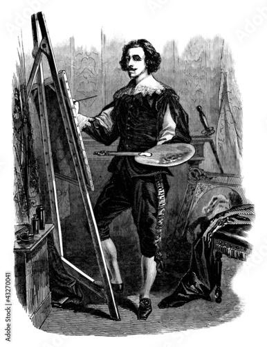 malarz-xvii-xviii-wiek