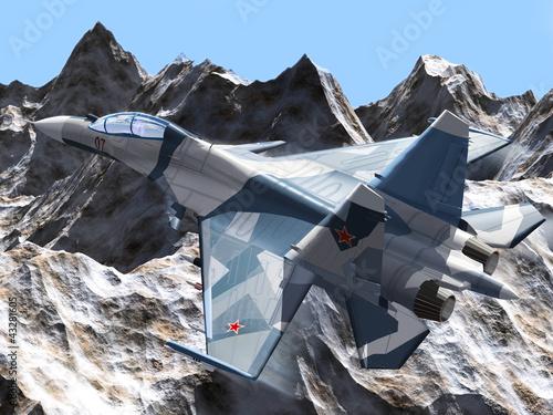 Russian combat plane