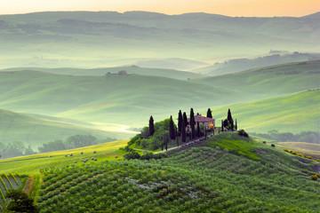 Naklejka Krajobraz Podere in Toscana, Italia