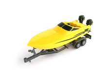 Toy Boat On A Trailer