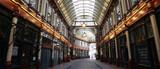 Fototapeta Londyn - Leadenhall Market in the City of London