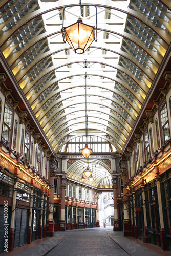 Leadenhall Market in the City of London Wallpaper Mural