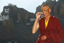 Indian Tibetan Monk Sadhu