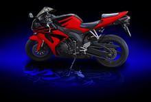 Red Motobike