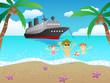 cruise to beach