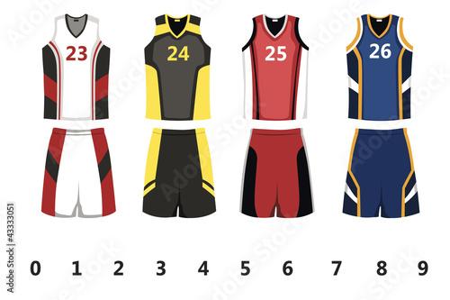 Fotografie, Obraz  Basketball jersey