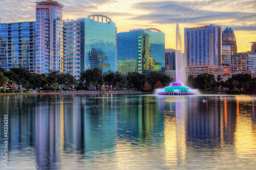 Photo Stands Cyprus Orlando Skyline