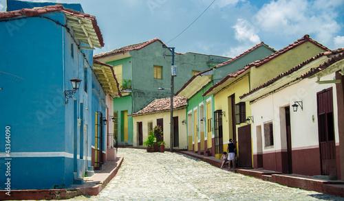 vie cubaine Canvas Print