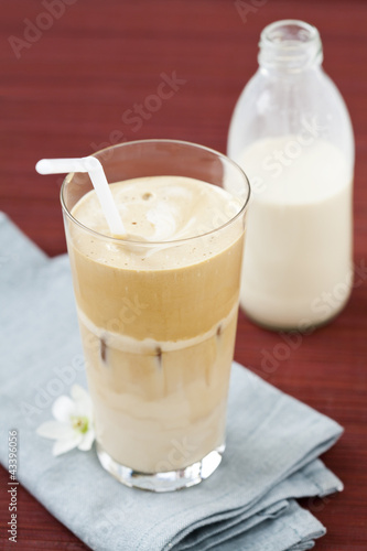 In de dag Milkshake Iced coffee - frappe