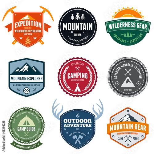 Photo  Mountain badges