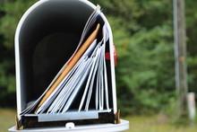 Mailbox  Full  Of  Mail