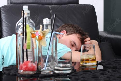 Fényképezés  Alkoholik w depresji
