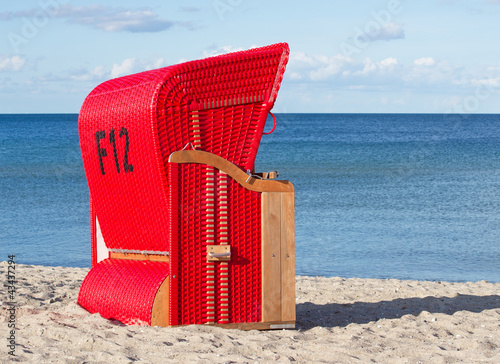 Foto-Kissen - Am Strand - At the Beach (von DOC RABE Media)