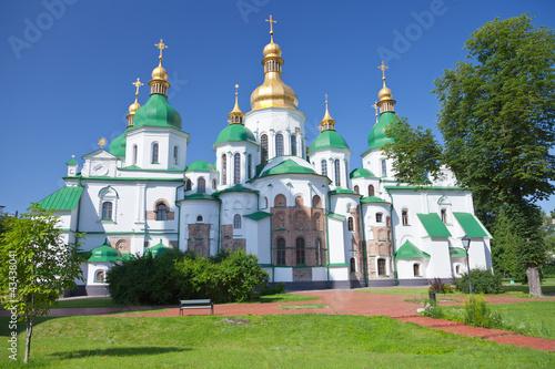 Foto op Plexiglas Kiev Saint Sophia Cathedral in Kiev