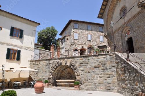 Foto  Radda in Chianti Tuscany historic town