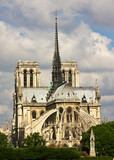 Fototapeta Paryż - Notre Dame Cathedral