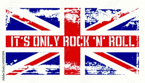 Photo It ́s only Rock ́n ́Roll - Union Jack