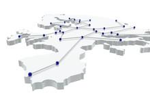 Red De Comunicación En Europa