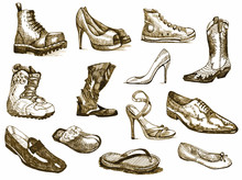 Shoes Of Dreams - Hand Drawing...