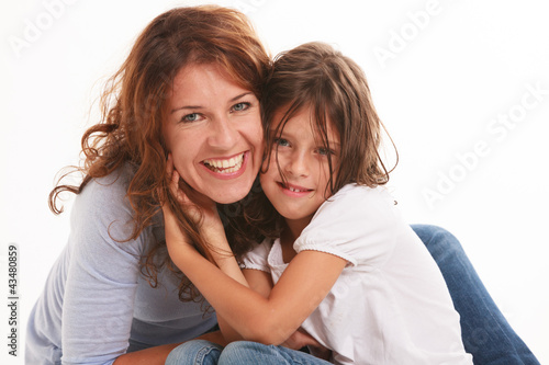 Fotografie, Obraz  Mother and Daughter