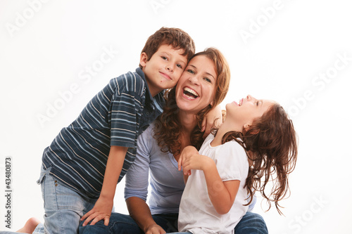 Young Family Canvas-taulu