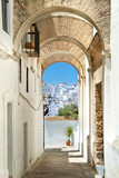 Fototapeta  - White village in andalucia