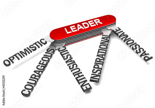 Foto  Five characteristics of a great leader