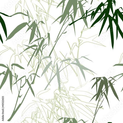 bambus-kwiatowy-bezszwowe-tlo-wzor