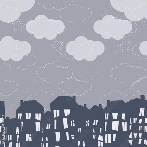 wektor-wzor-nocnego-miasta