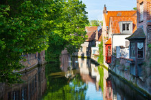 Bruges, Medieval City In Belgium