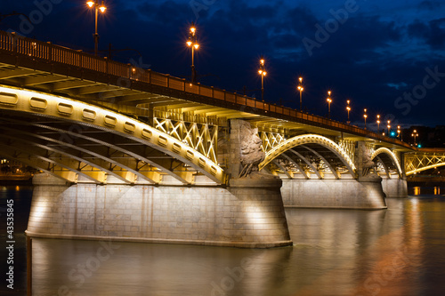 Margaret Bridge in Budapest