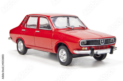 Deurstickers Oude auto s Dacia 1300