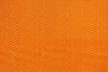 Orange Burlap Background