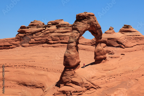 Arches national park in Utah Fotobehang