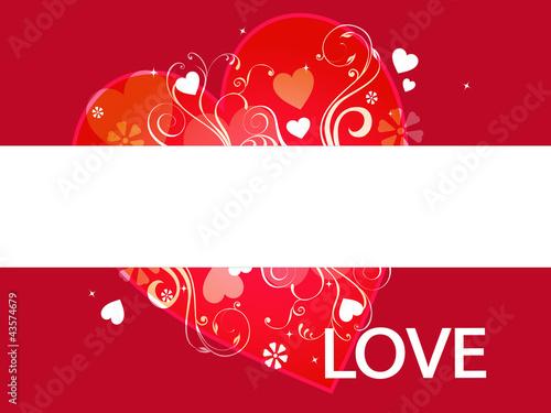Valokuva love banner