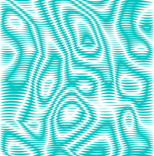 Green Illusion. Vector Background