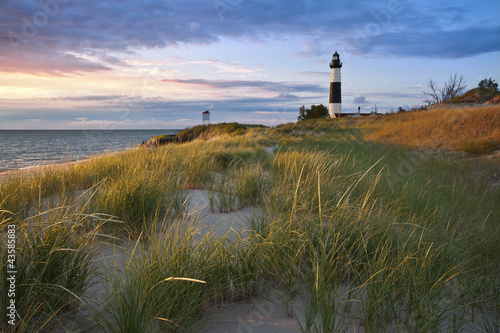 Big Sable Point Lighthouse. Fototapeta