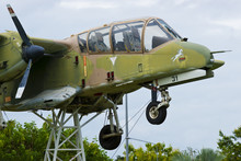 A World War Two P-40 Airplane ...