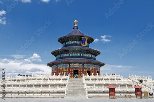 Foto op Canvas Peking Temple of Heaven in Beijing, China
